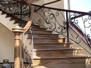 лестницы из термодревесины