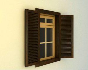 окна из термодревесины